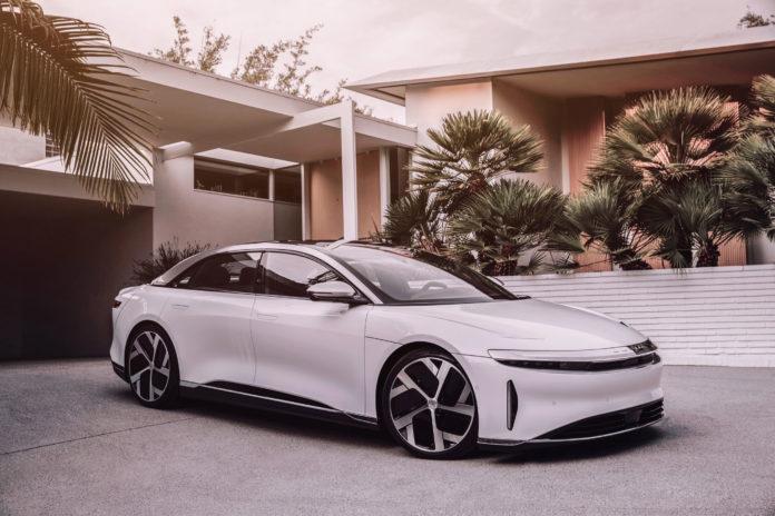LiDAR добавил интегрированный электромобиль ADAS и ADB Lighting, представленный Lucid Motors