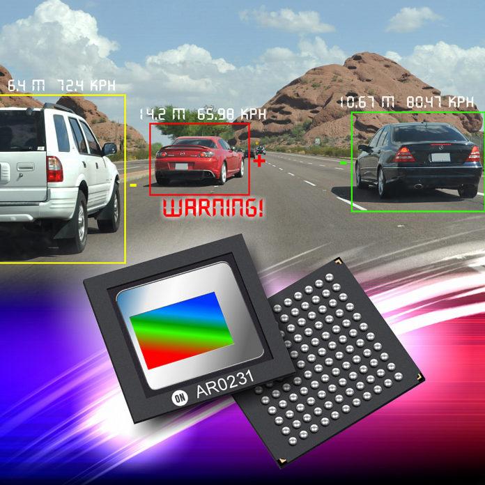 ON Semiconductor Supply Image Sensing Technology для платформы SUBARU ADAS