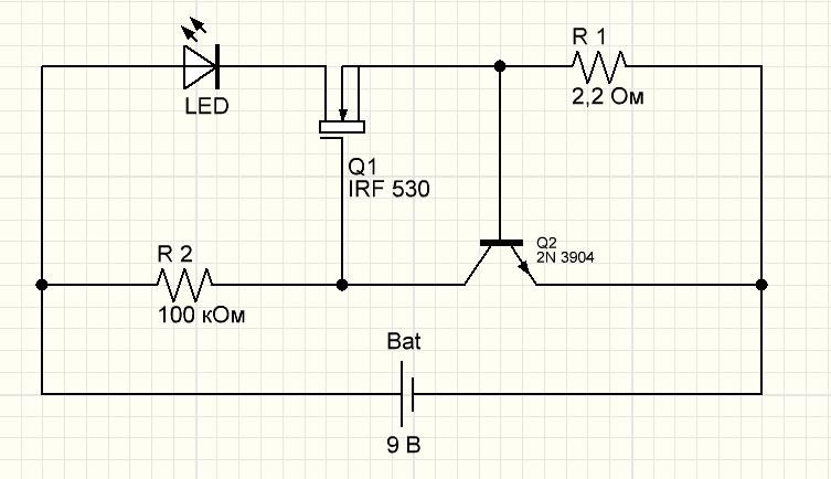 Светодиодный драйвер своими руками для мощных светодиодов