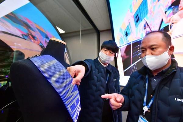 Lumens стремится расширить свой бизнес по производству гибких светодиодных экранов