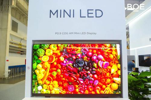 Компания BOE запускает массовое производство своего мини-светодиода AM на основе стекла нового поколения