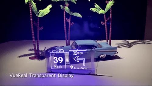 С ростом популярности прозрачных мониторов VueReal разрабатывает новый прозрачный микро-светодиодный дисплей.