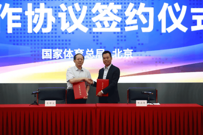 Unilumin получила право использовать торговую марку TEAM CHINA!