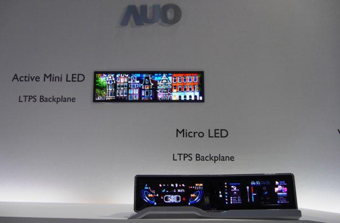 <pre>AUO ожидает коммерциализацию микро-светодиодов через 1-2 года