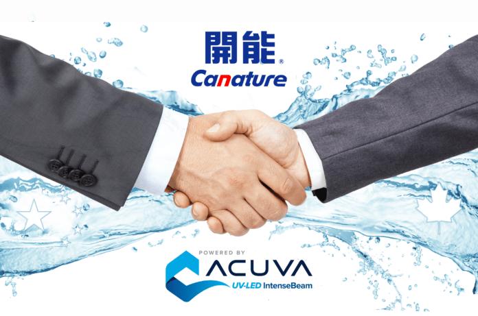 <pre>Acuva Technologies и Canature объединяются для разработки решения для очистки ультрафиолетовых светодиодов