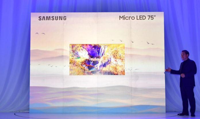 <pre>【CES 2019】 Продолжается конкуренция между Micro LED и OLED