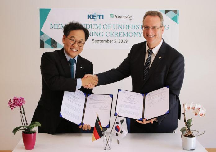 <pre>Fraunhofer IAP и KETI сотрудничают в разработке цветных фильтров QD для микро светодиодов