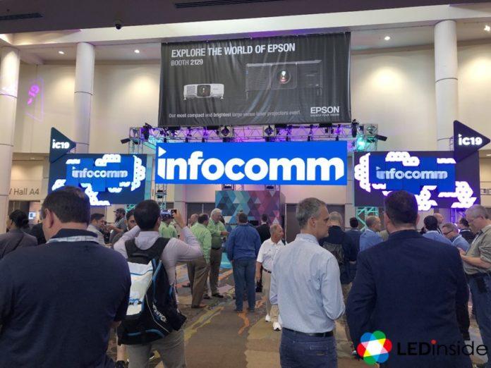<pre>【InfoComm 2019】 Технологии отображения Поднимитесь на новый уровень с инновациями и креативностью