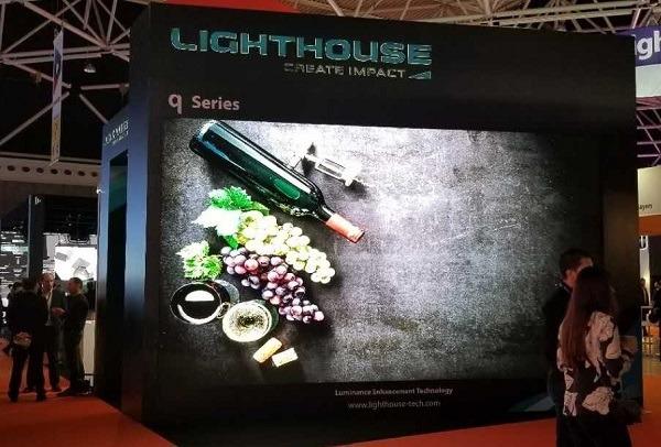 <pre>Компания Lighthouse объединилась с Macroblock в разработке светодиодного видео дисплея следующего поколения