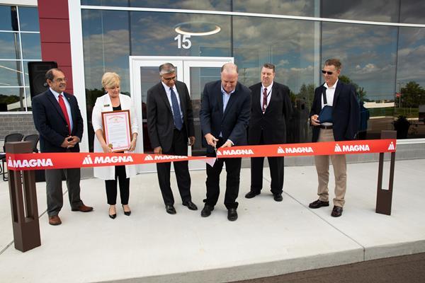 Magna открывает новую производственную площадку для ускорения инновационных технологий, включая ADAS и Micro LED Lighting