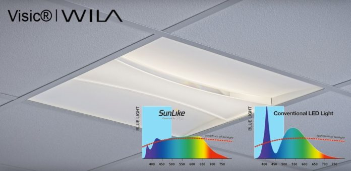<pre>Осветительная компания принимает светодиод SunLike Seoul Semiconductor для освещения, ориентированного на человека, в офисах и учебных зданиях