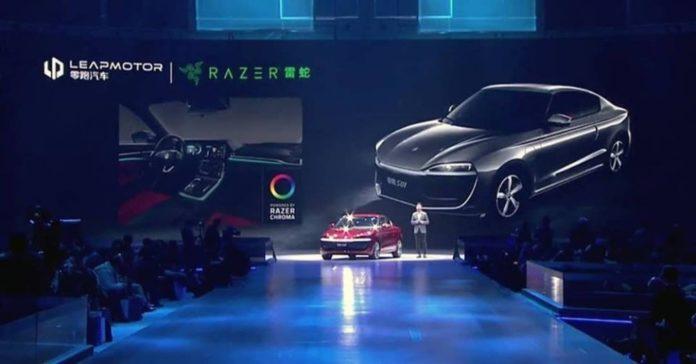 <pre>Razer работает с Leap Motor, чтобы предложить своим автомобилям Chroma Lighting
