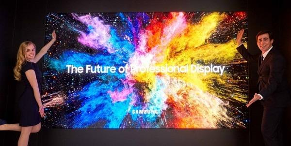 <pre>Samsung представляет профессиональный светодиодный дисплей Micro для улучшения доставки коммерческого контента