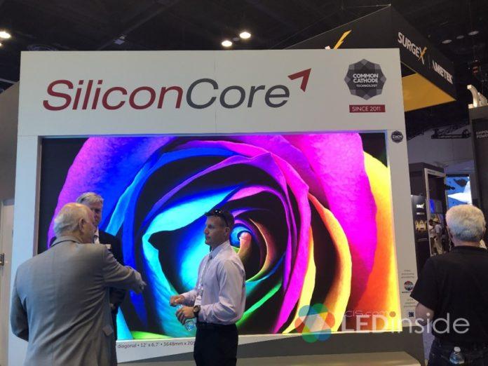 <pre>SiliconCore Partners TOPCO будет поставлять микросхемы драйверов для мини / микро светодиодных дисплеев