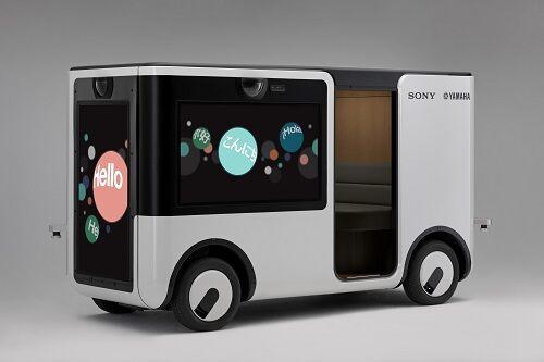 Sony и Yamaha совместно разрабатывают автономную развлекательную корзину
