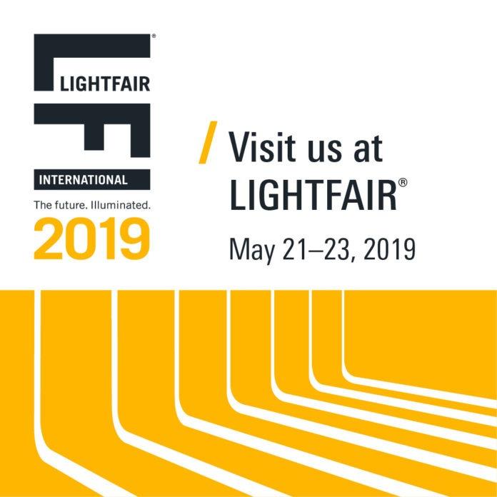 <pre>Светодиодные и осветительные фирмы представят инновационные световые решения на LIGHTFAIR International 2019