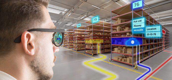 <pre>Технология микро-светодиодных дисплеев GaN-on-Silicon компании Plessey позволяет использовать новейшие AR-устройства и решения для отображения