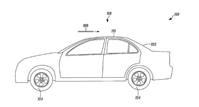 <pre>Tesla запатентовала новый люк со встроенным светодиодным освещением