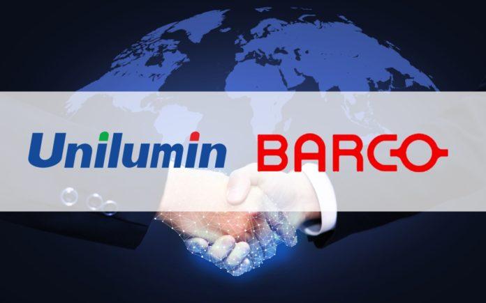<pre>Unilumin сотрудничает с Barco для расширения своего глобального бизнеса светодиодных дисплеев